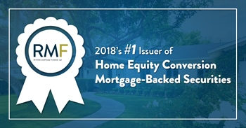 "Reverse Mortgage Daily: ""RMF Takes Top Spot for Reverse Mortgage Securities Issuance in 2018"""