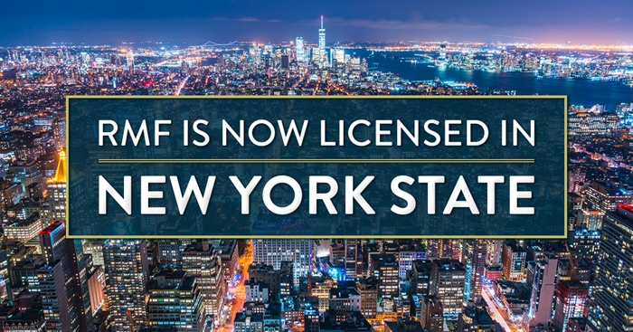 RMF Earns License to Originate HECMs in New York State
